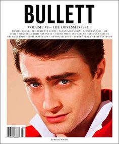 Daniel Radcliffe stars new cover Bullett magazine