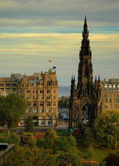 The Scott Monument, New Town, Edinburgh, Scotland