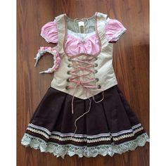 Encontrada no Google em lojavanilla.com.br Beer Maid, School Outfits, Summer Dresses, Manicure, Google, Fashion, German Fashion, German Costume, Costumes