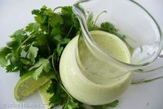 Wahoo's Fish Taco's Cilantro Sauce! But I will need to find a sub for the mayo