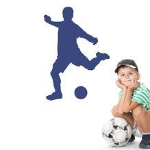 Wallsticker Fodboldspiller