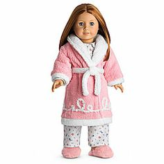Emily's robe and slippers - American Girl