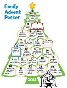 about Advent - November 30 - December 24, 2014 on Pinterest | Advent ...