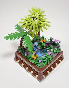 """I'm Lost (Stitch)"" by Klikstyle: Pimped from Flickr J Craft, Lego Craft, Lego Disney Castle, Lego Friends Elves, Lego Table Ikea, Lego Village, Lego Minifigure Display, Lego Pictures, Lego Room"