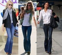 Womens Flared Jeans #Style