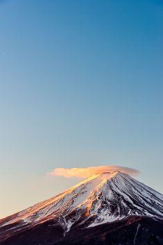 Mt. Fuji, Japan. Image via: crossingislandjapan.tumblr.com/