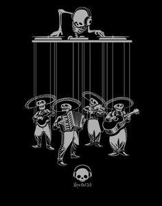 dia de los muertos by niteowlink on Etsy