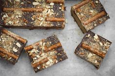 Triple Decker Maple Peanut Butter Pretzel Fudge