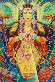 Art - Goddesses, Muses, Ujvala Nilamani