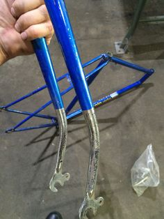 Atala sprint bicycle forks