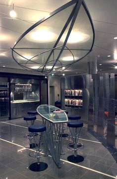 The Air Canada Maple Leaf Lounge at France Paris - Charles De Gaulle Terminal 2A