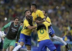 The super star of the Brazilian Olympic and national team scored the decisive spot kick in a dramatic shootout against Germany