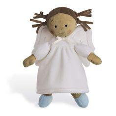 "Unique Catholic Baptism Christening Baby Gift - Angel Doll - 10"" Small"