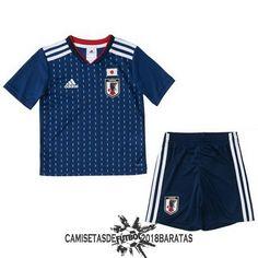 Primera Conjunto Camiseta Japon Niños 2018. Replica camisetas de ... 2c483ca791547