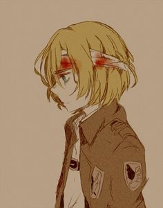 Why is Armin so smart and adorable and when he's not adorable he's creepy and smart which actually turns me on a little bit.