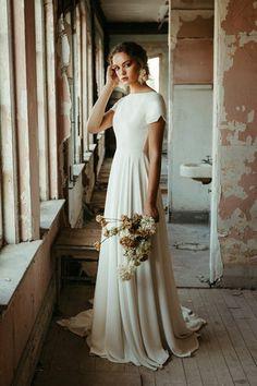 Dream Wedding Dresses, Bridal Dresses, Gown Wedding, Wedding Cakes, Wedding Rings, Wedding Bride, Mormon Wedding Dresses, A Line Dress Wedding, Casual Wedding Dresses