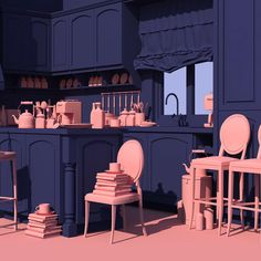 Take a Dreamy Daytrip into the Pink and Blue 'Venus Mansion' | The Creators Project