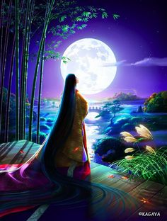 Yutaka Kagaya. Японские художники ; Moonchild can not find the story i had seen, but i will not forget