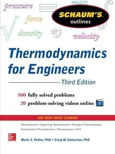 Engineering fluid mechanics 10th edition pdf mechanical free pdf schaums outline of thermodynamics for engineers 3rd edition schaums outlines fandeluxe Choice Image