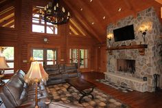 Southland Log Home Photos & Pictures | Longleaf Lodge 015
