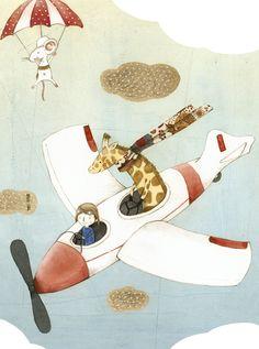 Fly Illustration by Judith Loske