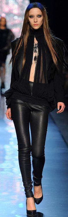 Jean Paul Gaultier - Fall 2012-13 RTW ✜  http://www.vogue.com/collections/fall-2012-rtw/jean-paul-gaultier/runway/#/collection/runway/fall-2012-rtw/jean-paul-gaultier/54