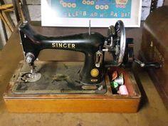 Singer 99K handcrank from 1955