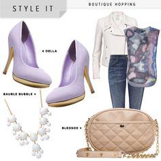 Della purple shoes for bridesmaids