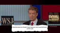Rand Paul: He's Back