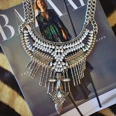 Get the designer look for less! Shop our Boho Glam Statement Necklace at Jewel Cult.
