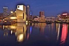 Cleveland Ohio Lakefront Photograph