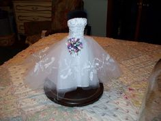 replica miniature wedding gowns