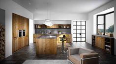 Warme en karaktervolle keuken, type 'Artwood' in de kleur 'Wild Oak'. Dit model komt uit de collectie van Schmidt en is uiteraard verkrijgbaar bij Keukencentrum P. de Haan.