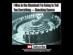 I Was in the Illuminati I'm Going to Tell You Everything — Shocking Expose