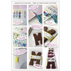 Pimp je Chocoladeletter   Do It Yourself (D.I.Y), sinterklaas, feestdagen voor kinderen