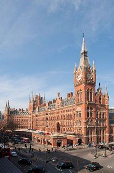 St. Pancras Renaissance Hotel, London, England - Our Honeymoon hotel!