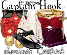 summer concert   Disney Bound Captain Hook