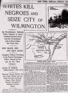 Black Genocide in Wilmington