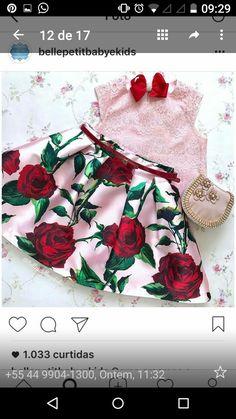 Dresses Kids Girl, Kids Outfits, Dress Anak, Toddler Skirt, Kids Gown, Kids Wear, Fabric Flowers, Frocks, Baby Dress