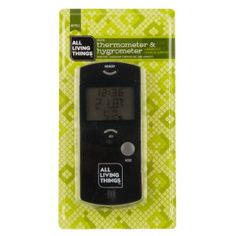 All Living Things® Reptile Habitat Thermometer & Hygrometer | Humidity & Temperature Controls | PetSmart