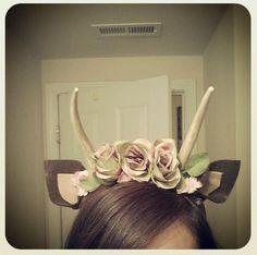 Bambi costume DIY