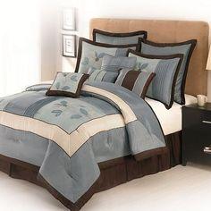 Samantha Floral 10-pc. Comforter Set