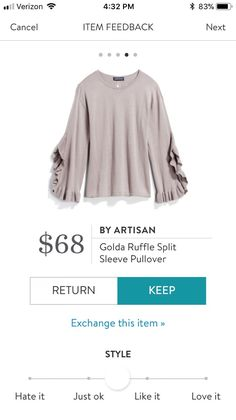 I love Stitch Fix and think you will too! Get your first $20 styling fee waived as a gift from me to you. Make sure you use my link when you sign up: https://www.stitchfix.com/referral/13937365?sod=a&som=s