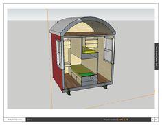 Zephyr Slice of Double Bedroom area; aka jack 'n jill