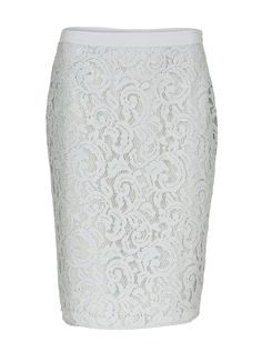 Cemona Silk Lace Skirt | Custommade.dk