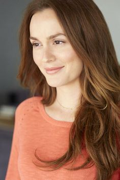 Leighton Meester in natural make up