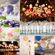 2014 Wedding Decoration Ideas-Using Lanterns -InvitesWeddings.com