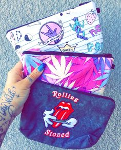Smell proof bags for your dank stash from ShopStayWild.com ✨ #weed #cannabis…