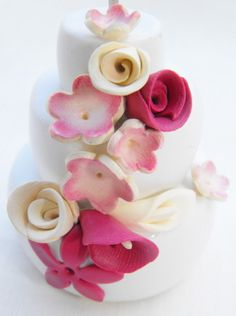 wedding cake in polymer clay on rachelecreazioni.jimdo.com