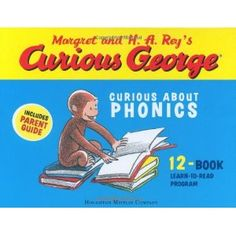 Curious George Curious About Phonics 12 Book Set